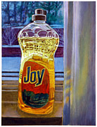 Joy Painting Originals - Joy by John Lautermilch