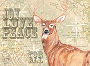 Andrea LaHue - Joy Love Peace Stag