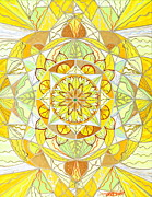 Sacred Geometry Posters - Joy Poster by Teal Eye  Print Store