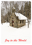 Christmas Card Photo Metal Prints - Joy  to the World Christmas Card Metal Print by Edward Fielding