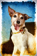 Jack Russell Digital Art - Joyful Jack by Angel Pachkowski