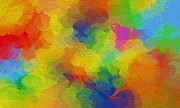 Joyful Palette Print by Abstract Digital