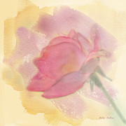 Pink Roses Prints - Joyous Print by Betty LaRue