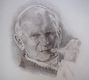 Paul Drawings - Jpii by Diane Stamp