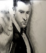 Singer Drawings - Jt by Luisa Gatti