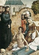 St Lazarus Art - Juan De Flandes  -1519. The by Everett
