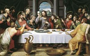 Last Supper Photo Posters - Juanes, Juan De 1523-1579. The Last Poster by Everett