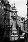 Jubilee Clock For Queen Victorias Golden Jubilee Douglas Isle Of Man Print by Joe Fox