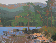 Malcolm Warrilow - Jubilee Point at Loch Eck