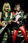 Concert Photos Art - Judas Priest at the Warfield Theater during British Steel Tour by Daniel Larsen