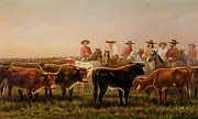 On The Plains Prints - Judges of the Plains Print by James Walker