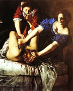 Beheading Paintings - Judith Beheading Holofernes by Pg Reproductions