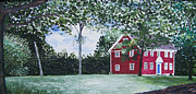 Stratford Paintings - Judson House by Kevin Croitz