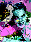 Hollywood Art - Judy Garland by Allen Glass