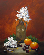Carol Hart - Jug and Blossoms