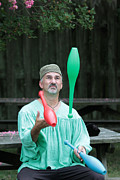 Juggling Photo Prints - Juggling Print by Dwight Cook