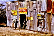 Shack Framed Prints - Juke Joint Framed Print by Benjamin Yeager