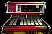 Wurlitzer Photos - Jukebox - Wurlitzer x7 by Lee Wright