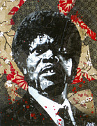 Pulp Fiction Paintings - Jules  by Bobby Zeik