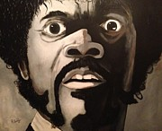 Samuel L Jackson Framed Prints - Jules Winnfield Framed Print by Rob Peters