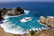 Canon 7d Prints - Julia Pfeiffer Burns State Park Print by Donna Kennedy