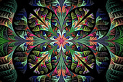 Fractal Designs Prints - Julia Print by Sandy Keeton