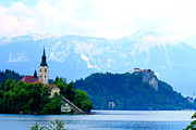 Slovenia Photos - Julian Alps by Saya Studios