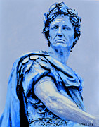 Julius Paintings - Julius Caesar by Victor Minca