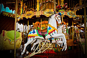Amusements Metal Prints - Jumper Metal Print by Colleen Kammerer