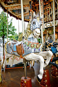 Carousel Framed Prints - Jumper Framed Print by Olivier Le Queinec