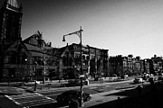 Crosswalk Framed Prints - junction of west 122nd street and Malcolm X boulevard Lennox Avenue Harlem new york city Framed Print by Joe Fox