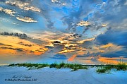 Colorful Cloud Formations Prints - June 2013 NWFL Sunset I Print by Mark Olshefski