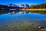 Aspen Fall Colors Photos - June Lake California by Scott McGuire