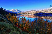 Fall Colors Posters - June Lake California Sunrise Poster by Scott McGuire