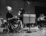 Sun Ra Arkestra Photos - June Tyson 1968 by Lee  Santa