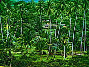 Farming Digital Art - Jungle Life oil version by Steve Harrington