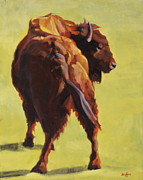 Bison Art - Junior by Patricia A Griffin