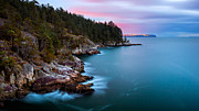 British Columbia Photo Prints - Juniper Point Print by Alexis Birkill