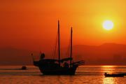 English Landscapes - Junk In Gibraltar