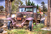 Abandoned Metal Prints - Junk Yard Special Metal Print by Juli Scalzi