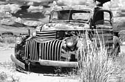 Junkyard Chevy Print by Kurt Golgart