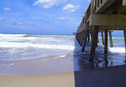 Miami River Photos - Juno pier by Carey Chen