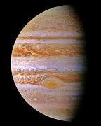 Jupiter And The Spot Print by Benjamin Yeager