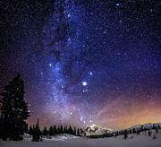 Milky Way Photos - Jupiter Rising by Alexis Birkill