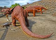 Jurupa Dinosaurs Print by Gregory Dyer