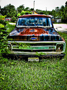 Old Trucks Photos - Just A Little Rusty by Colleen Kammerer