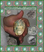 Coin Mixed Media Prints - Just about Money Print by Jose Galindo