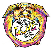 Love Print Drawings - Just Add Love by Dale Michels