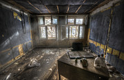Abandoned Digital Art - Just another day in the office by Nathan Wright