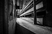 Surreal Art Photos - Just Another Side Alley by Bob Orsillo